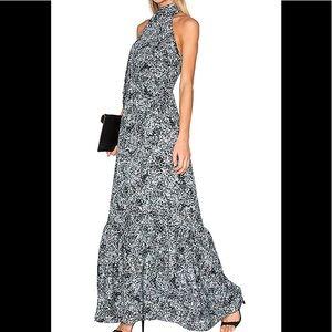 NWT Parker sz sm black/white Filaree dress